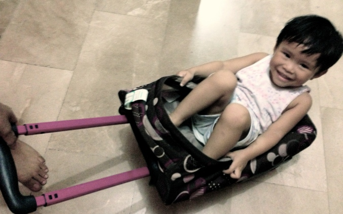 Kaiyel discovers a new ride, and his Kuya Paul and Tito Aleks discover back pain.